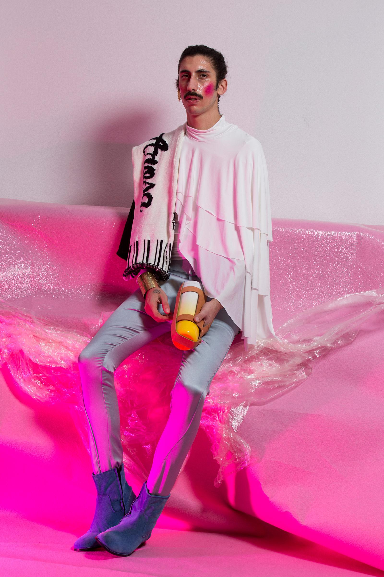 Laurent Hermann Progrin «Uphill Arosa»   Institut Mode-Design, Diplom Bachelor 2016