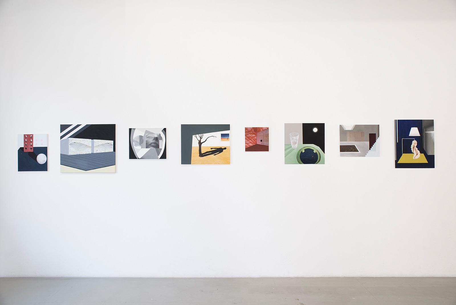 Paula Thiel «Raum 1 – 8»   Institut Kunst, Diplom Bachelor 2016