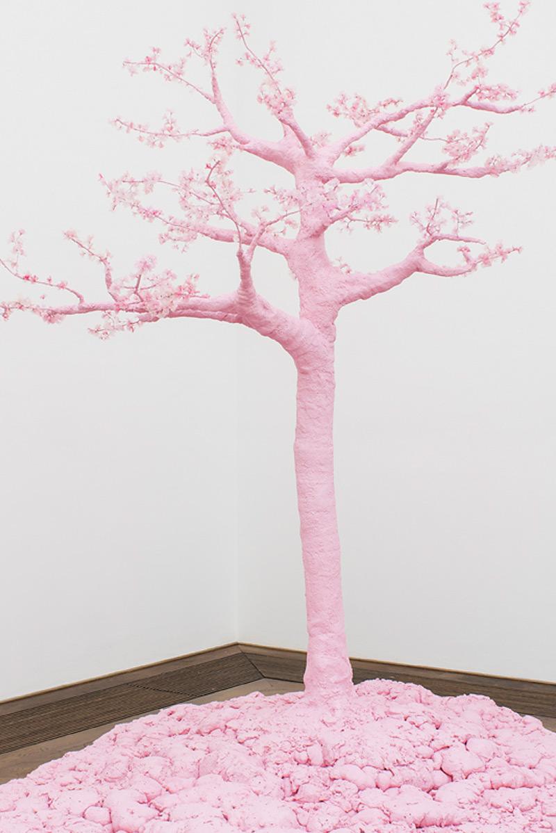 Nici Jost «SAKURA PINK – the delicacy of power» | Institut Kunst, Master 2016,