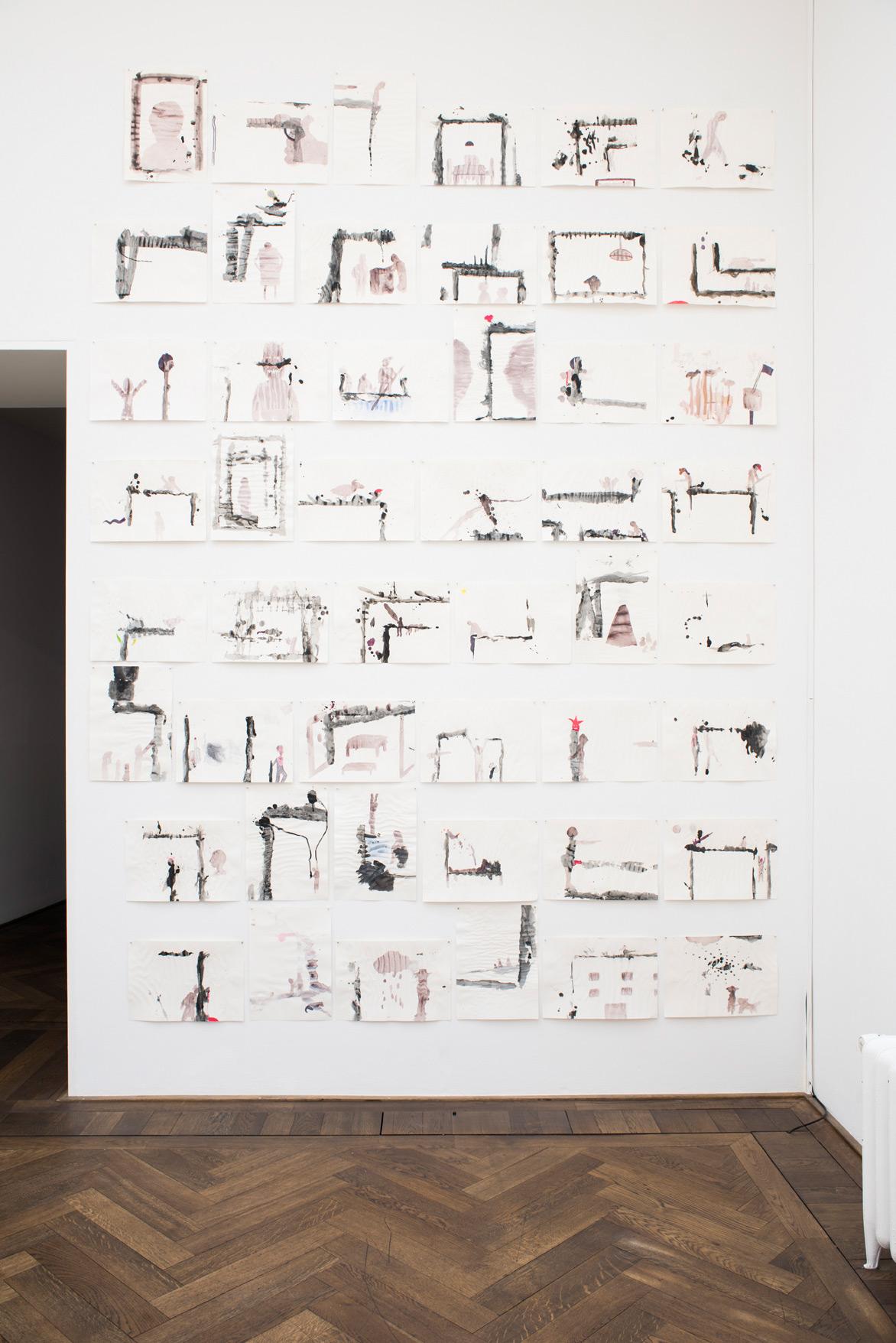 Paul Takács «Schneller als der Schatten/Der Baum» | Institut Kunst, Master 2016