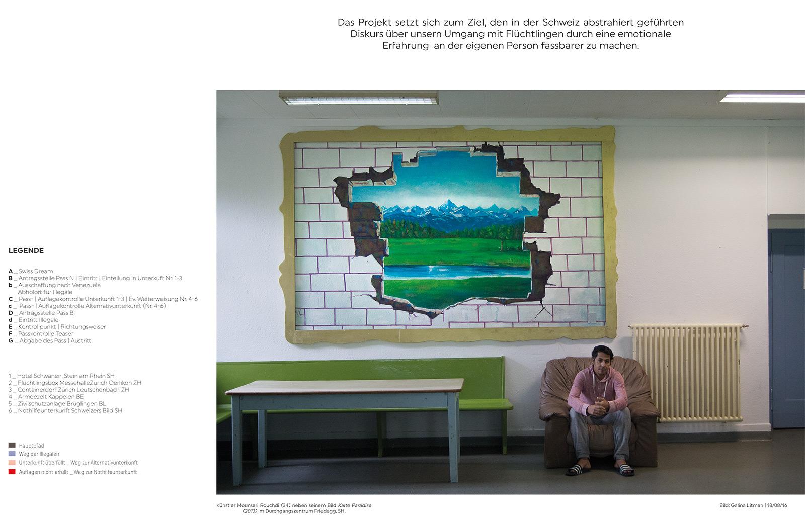 Galina Litman «Swiss Dream | Swiss Reality» | Innenarchitektur und Szenografie, Diplom 2016
