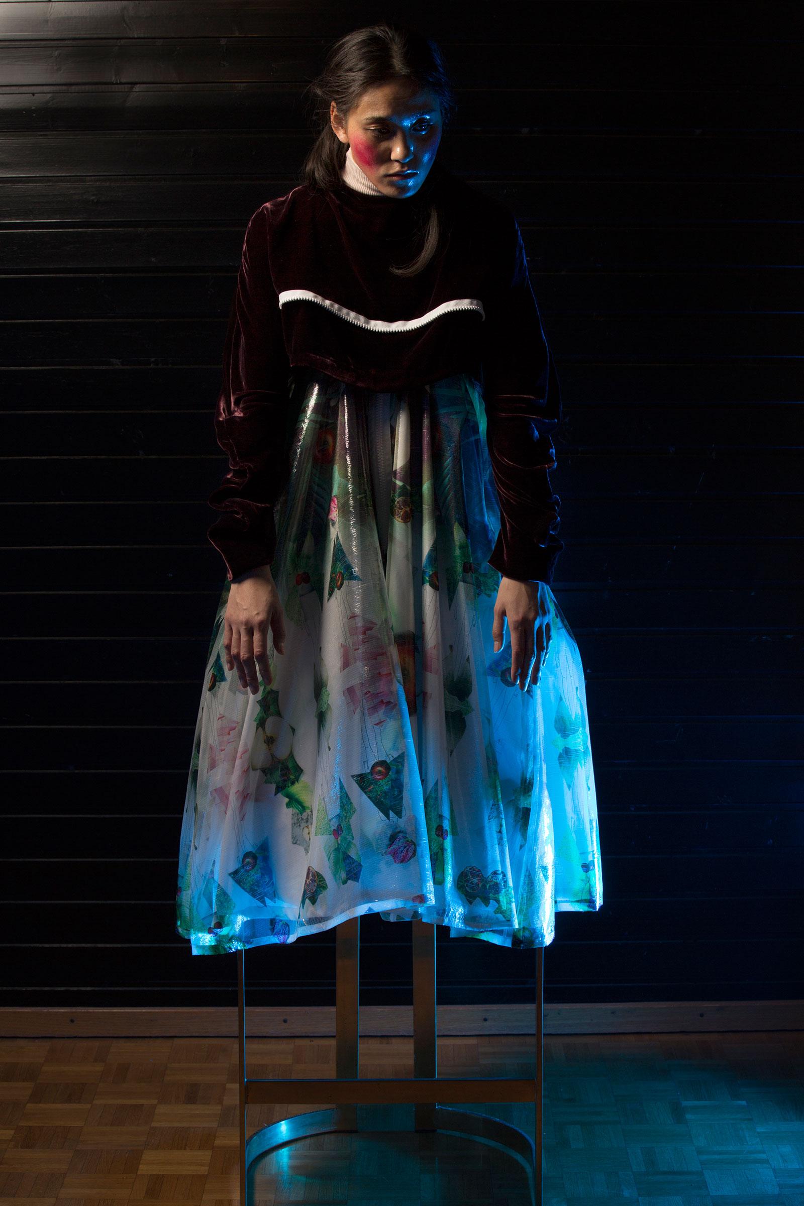 Karmen Mänd «I see the garden overall 2016»   Institut Mode-Design, Diplom Bachelor 2016