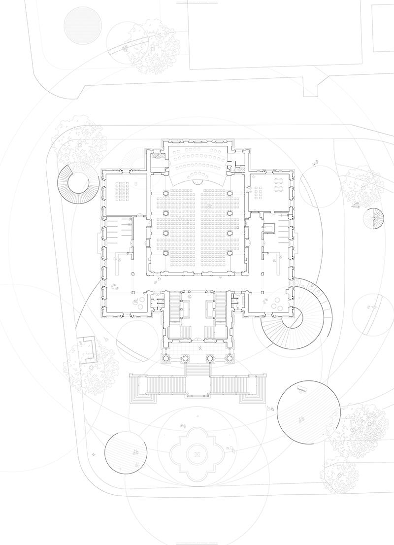 Anja Danielle Raemy «Treppenraum – Ein begehbares Monument» | Innenarchitektur und Szenografie, Diplom 2016