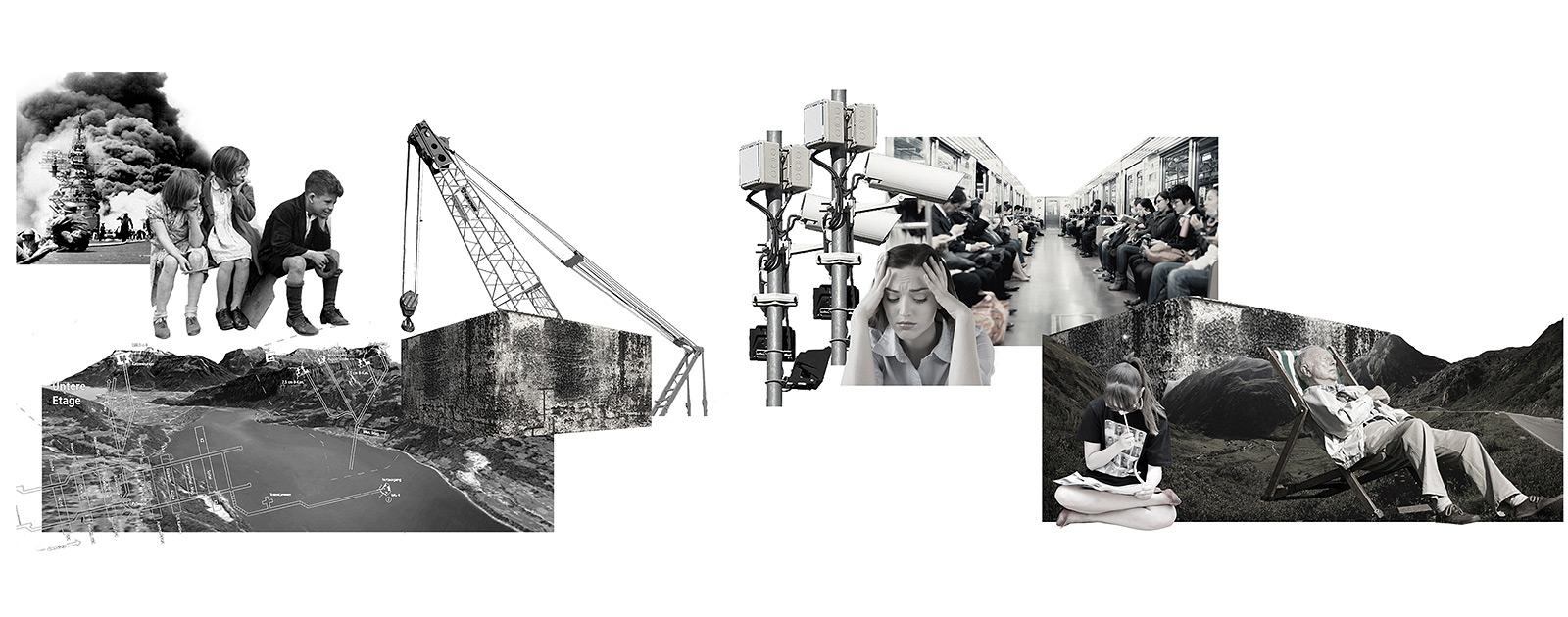 Eva Zoë Chen «AUSZEIT BUNKERN» | Innenarchitektur und Szenografie, Diplom 2016