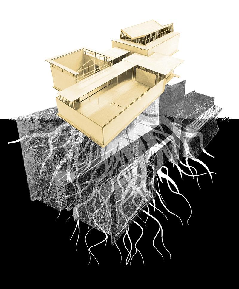 Léa Lardrot «STAATSRUINE – too deep to fail» | Innenarchitektur und Szenografie, Diplom 2016