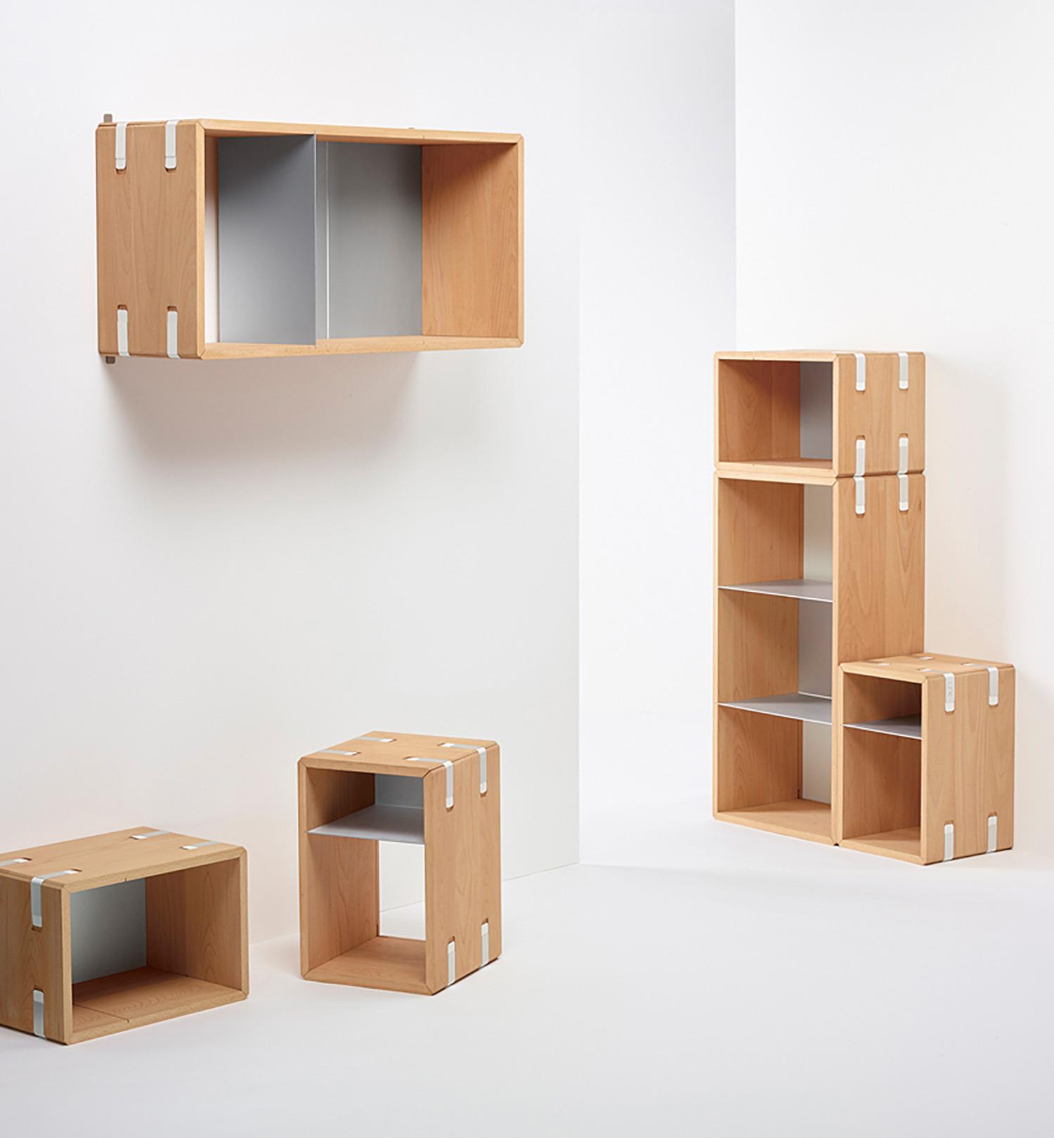 Rhea Loser «link – ein wandelbares Möbelsystem» | Industrial Design, Diplom Bachelor 2016