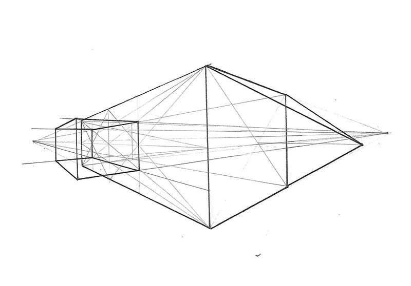 Lavinia Fasciati – Abstraktion in der Zeichnung