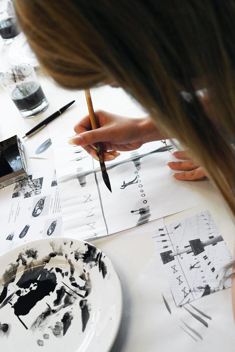 Martina Gmür – Flecken – Malen – Modellieren