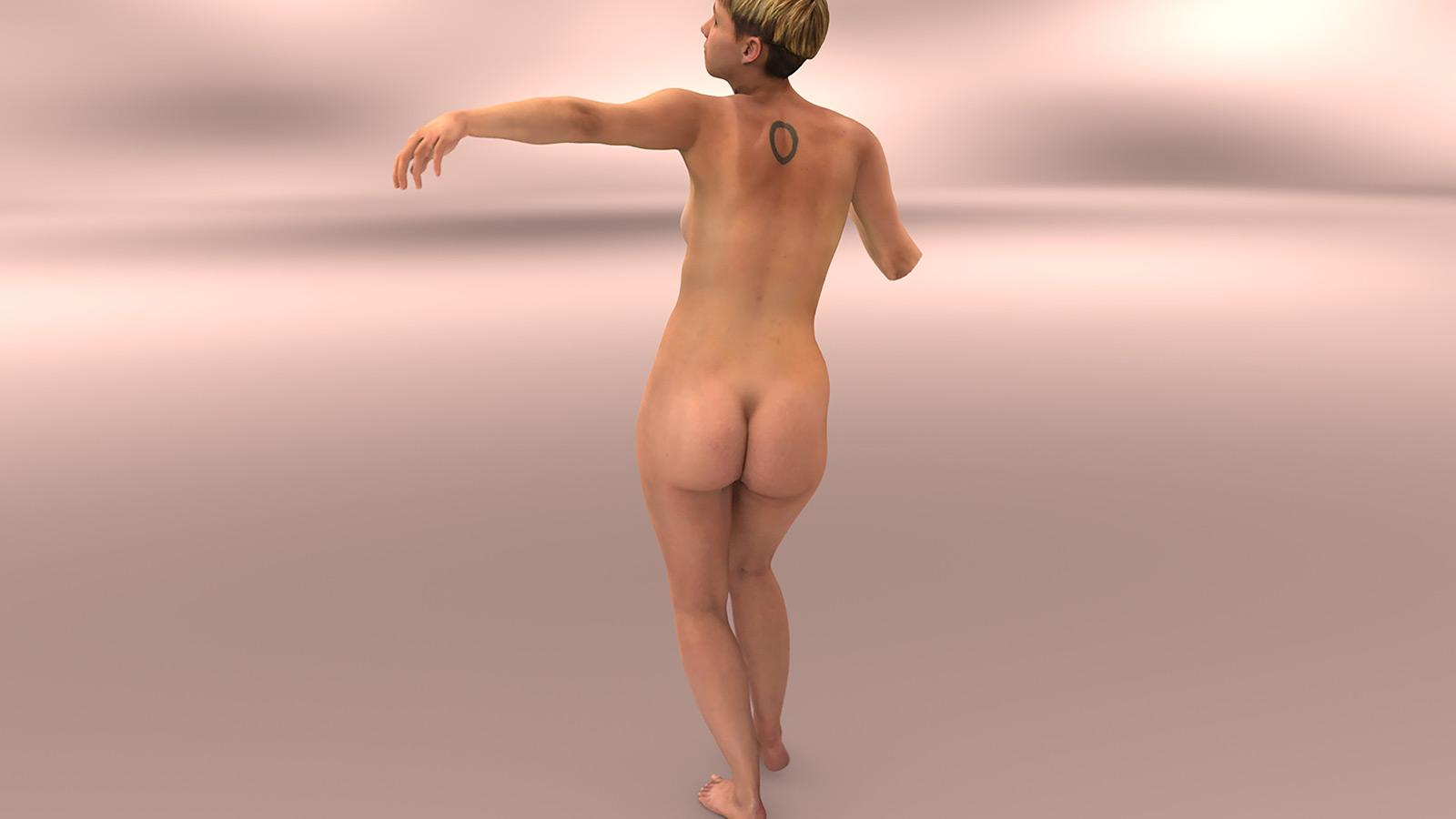 Rahel Sarasin – female digital nude